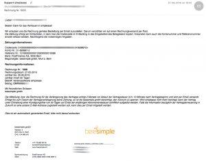 Email-Rechnung